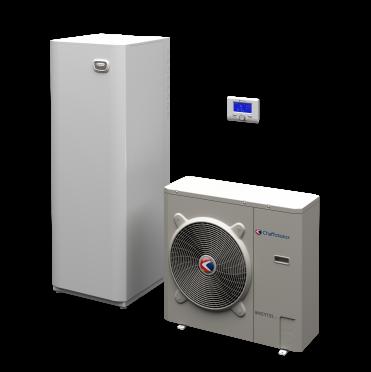 Chaffoteaux   ARIANEXT COMPACT   Αντλια θερμοτητας  DC inverter + ενσωματωμενη υδραυλικη κολωνα ολα- σε- ενα με δοχειο αποθηκευσης 180 λιτρα